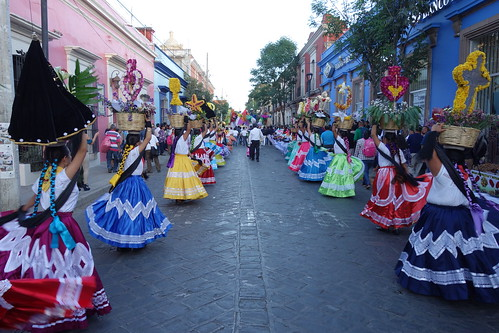 La rue pendant la procession