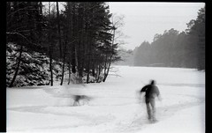 83 (PaulaJanso) Tags: ice skating tree snow forest sky peopole landscape