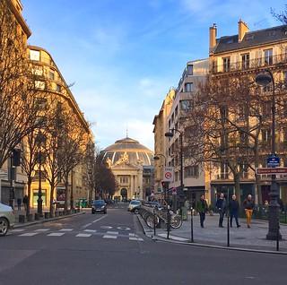 Paris Francis  - Old Custom House -  Bourse de Commerce, old Stock Exchange, Parc Les Halles, Place de St. Eustache, city centre,