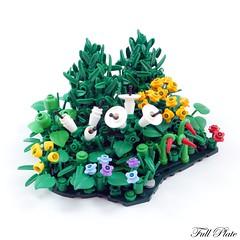 Foliage WIP (Emil Lidé) Tags: lego moc wip swebrick masterbuilder foliage flower plant