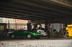 Lamborghini Miura S (GPE-AUTO) Tags: rétromobile porte de versaille exposition classic car exhibition paris france classique exotic legend supercar montage assembly backstage person personne lumière voiture route personnes porsche high hauteur above audessus road street lamborghini miura s miuras