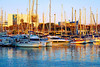 At sunset (Fnikos) Tags: port porto puerto harbour sunset atardecer sun city architecture sea water waterfront sky skyline boat sailboat outdoor