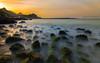 Seascape (Sreelesh Sreedhar) Tags: seaside seascape beach clouds coast sea longexposure landscape nikon nikonflickraward ngc nikond800 nikon1635mm outdoor oman slowshutter shore