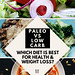 paleo vs low carb best for health and weight loss