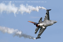 3973 Belgian F16 Display (photozone72) Tags: belgianairforce belgian f16 airshows eastbourne airshow aircraft aviation canon canon7dmk2 canon100400f4556lii 7dmk2