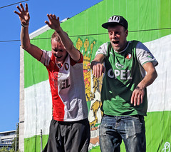 "Feyenoord supporters • <a style=""font-size:0.8em;"" href=""http://www.flickr.com/photos/45090765@N05/38921231905/"" target=""_blank"">View on Flickr</a>"