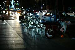 2208/1733 (june1777) Tags: snap street seoul gangnam yeoksamdong night light bokeh bicycle sony a7ii leitz wetzlar leica summilux m 50mm f14 1600 clear