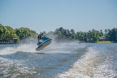 Jumping (Paul Saad) Tags: tube people ski waterski sea boat water ocean jetski jumping