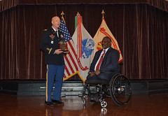 20180111-A-YK011-042 (704thpublicaffairs) Tags: 704thmi 704thmilitary intelligence brigade 704th electron recon staff sgt cashmere jefferson mlk fort george g meade martin luther king jr day col gadson double amputee gregory d