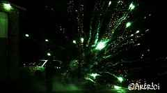 New Year 2018. 🎉 (Artr!ci) Tags: firework night sylvester new year 2018 green light photography canon eos1300