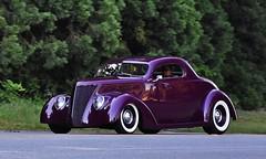 1937 Ford coupe (Custom_Cab) Tags: 1937 ford coupe 3window 3 window street hot rod custom purple car