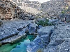 Morning hike in Wadi Damn.