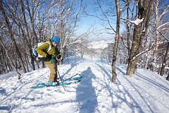 Mt. Goryo and Kami-Sunagawa Ski Field Ski Touring (Hokkaido, Japan) (Robert Thomson) Tags: backcountryskiing hokkaido japan kamisunagawa derelictskifield closedskifield skiarea mtgoryo backcountryskitouring hokkaidoskitouring easy shorthike onsen pankeonsen selfguided routefiles