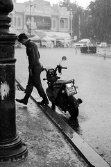 Monsoon (gergelytakacs) Tags: asia asian bangkok fareast indochinese kingdomofthailand krungthep krungthepmahanakhon southeastasia thai thailand bw bike blackandwhite bystander calle candid city cloudburst documentary downpour flâneur lighting man metropolis monochrome monsoon motorbike motorcycle noiretblanc photo photography pole policeman pour precipitation public rain rainstorm rue shower soldier space storm strada stranger strasenfotografie street streetphoto streetphotograph streetphotographer streetphotography streets streetscape torrent ulica uniform uniformd unposed urban urbanphoto urbanphotographer urbanphotography utcafotó walking water weather wet wheter улица רחוב กรุงเทพมหานคร ราชอาณาจักรไทย