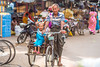 """""""High Five"""" - Grandfather and granddaughter on tricycle in Mandalay (Myanmar) (patuffel) Tags: tricycle mandalay grandfather granddaughter burma myanmar summicron 50mm leica m10"""