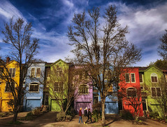 The ABC's Of Color (Ian Sane) Tags: ian sane images theabcsofcolor colorful multicolored townhouses alphabet historic district northwest portland oregon candid street photography architecture canon eos 5ds r camera ef70200mm f28l is usm lens yabbadabbadoo