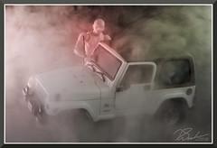 KunSmoke_7976 (bjarne.winkler) Tags: hikari sensei kun master light photo safari jeep fog