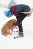 Maybe snow boots for dogs? (Thea Teijgeler) Tags: hond dog sneeuw sauerland dier wandeling