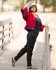 Bobo on the Bridge - Portrait (Pexpix) Tags: dof bokeh sunny cny2018 bridge ethnicjacket railings woman portrait daylight outdoor sunglasses hat pose female girl lady 攝影發燒友