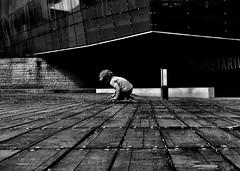 child (yeezusr96) Tags: paying kids prospective architecture warsaw beautiful cute street blackandwhite children