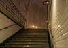 Paris sous la neige (Giloustrat) Tags: paris metro portedepantin pentax k3 neige escalier nuit stairs paths caminhos