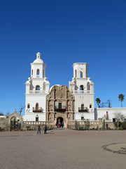 White Dove of the Desert (Mission San Xavier del Bac) #1 (jimsawthat) Tags: mission oodham sanxavier rural arizona nativeamerican spanishcolonialarchitecture architecture church desert whitedoveofthedesert