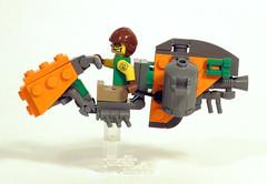 Recyclenator4 (Shmails) Tags: lego speeder bike contest district 18