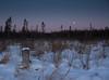 A cold dusk (scott5024) Tags: sunset moon bog sax zim