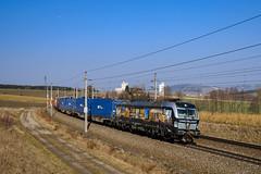"193 875 ""Connecting Europe"" (139 310) Tags: np baureihe österreich evu kbs lte 193875 zugnummer kbs150 193 tec tec40679 passauerbahn vectron katzbach oberösterreich at"