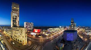 Berlin - City West Skyline Panorama