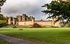 Alnwick Castle (Keith in Exeter) Tags: alnwick castle northumberland fortress building architecture field grass road tree picnictable landscape