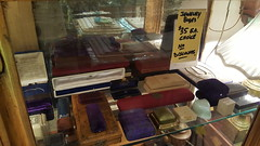 """ASSORTED VINTAGE JEWELRY BOXES, CHOICE FOR $35 EACH. • <a style=""""font-size:0.8em;"""" href=""""http://www.flickr.com/photos/51721355@N02/39613615622/"""" target=""""_blank"""">View on Flickr</a>"""