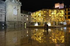 Plaza de la Seo y Foro Romano en Zaragoza (joseange) Tags: