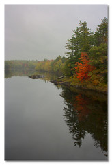 Autumn stillness - by John Runions (jrunions1) Tags: autumn fall fallcolor river newengland