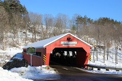 Taftsville Covered Bridge (pegase1972) Tags: us usa vt vermont unitedstates coveredbridge bridge pontcouvert pont winter snow