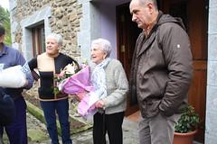 Juana Zelaiari omenaldia 100. urtebetzean