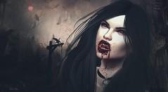 .. vampire night .. (Pocahontas Kowalsky) Tags: rachel kaoz koba akeruka deluxe head bento mocap new fabia sunny kinky event ash choker sombria baily supernatural