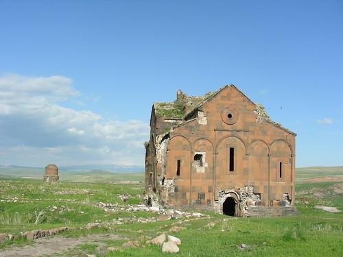 Ani, Armenische  Kathedrale der heiligen Jungfrau / Սուրբ Աստուածածին Եկեղեցի