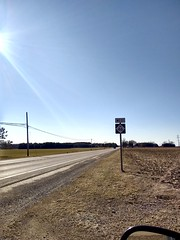 On the Road (neukomment) Tags: m46 highway road michigan usa 2018 march sun light shadows outdoors