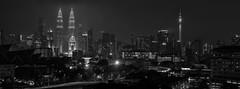 Petronas twin tower (Jeffri Jaffar) Tags: photographer gfx50s gf3264 citynight citylight kualalumpur downtown nighttime architecture klcctwintower pertronastwintower nightphotography streetlight streetphotoraphy blackwhitephotography blackandwhite