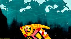 Geometria urbana. 049. Puerto del Rosario, Fuerteventura, diciembre 2017. (Jazz Sandoval) Tags: 2017 elfumador españa exterior enlacalle amarillo azul arquitectura beautiful contraste color canarias calle curiosidad colour curiosity city ciudad cian digital day dìa fotografíadecalle fotodecalle fotografíacallejera fotosdecalle fachada fuerteventura gráfico green graffiti graffitiart graphic islascanarias ilustración jazzsandoval rojo luz light blue murosyvallas muro mural negro nero naranja na e uno pintadas pintura pinturamural red orange streetphotography streetphoto solo yellow puertodelrosario