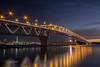 Harbour Bridge (jcooperbowers) Tags: 60d canon citylights longexposure cityscape landscape sunset northshore newzealand auckland harborbridge harbourbridge