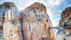 Caminito 16x9 (dr_cooke) Tags: caminito del rey málaga cliff rock barranco pasarela puente bridge sol sun verano summer limestone 16x9