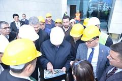 Yapımı devam eden Belediye hizmet binası ve Devlet Hastanesi inşaatında incelemelerde bulunduk. #Finike (mkaraloglu) Tags: finike