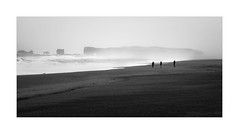 Elements (W.Utsch) Tags: iceland beach bnw landscape weather waves dust rocks minimalism blackandwhite monochrome leica mediumformat storm landschaft elements
