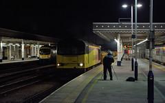 DSC_6120 All set (Gavin P B) Tags: marcus 60021 trundling sheffield station belmont dore junction engineering train