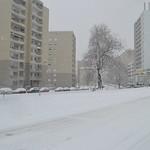 Quai Kilmarnock sous 10 cm de neige thumbnail