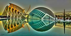 Hemisfèric i Museu de les Ciències Príncipe Felipe (KRAMEN) Tags: hemisfèric museu de les ciències príncipe felipe valència ciutatdelesartsilesciencies design españa