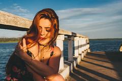 Állya (Danilo Belo Daniels) Tags: beauty model woman sexy brazil brazilian smile happy vintage dress flourish redhead blonde
