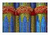 ceramic reliefs (christikren) Tags: brunnenhaus19921996 keramikreliefs brunnenhaus jugendstil hütteldorf garten garden museum ottowagnervilla dreimalgebrannt christikren ceramics artnouveau ernstfuchs brunnenanlage ceramicreliefs blue red green gold people candid dreams